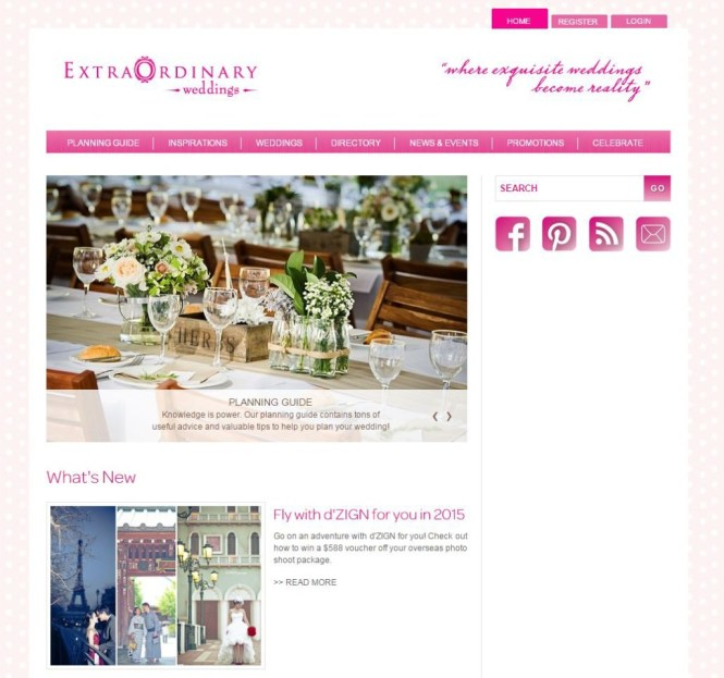 extraordinary weddings sc