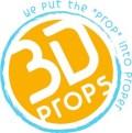 (3) 3D Props Love