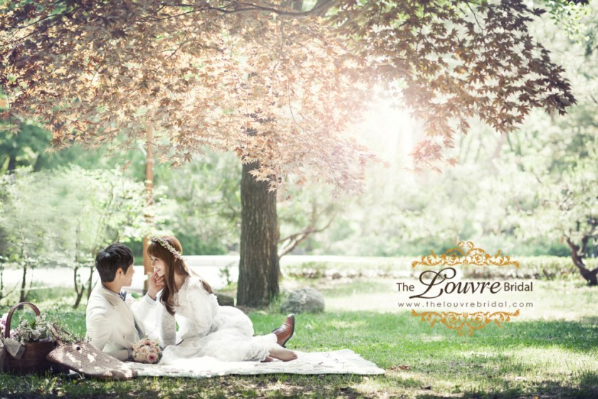 The Louvre Bridal_Korea Pre Wedding Photoshoot