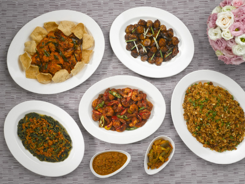 Main Courses from the Malay Menu