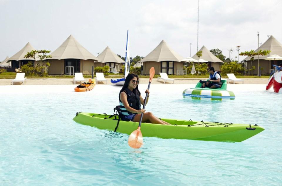 Treasure Bay Bintan Kayaking
