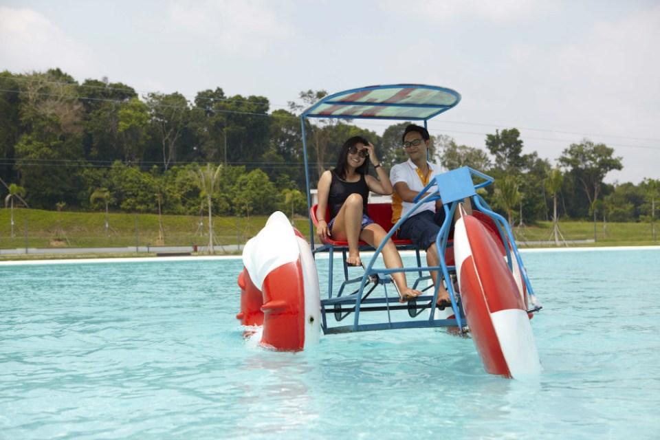 Treasure Bay Bintan Paddle Boat