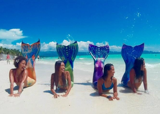 Boracay honeymoon mermaid school boracay 2