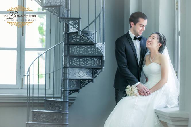 the louvre bridal 2