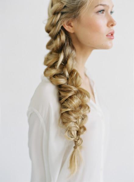 Wedding Hairstyles - Romantic Side Braid