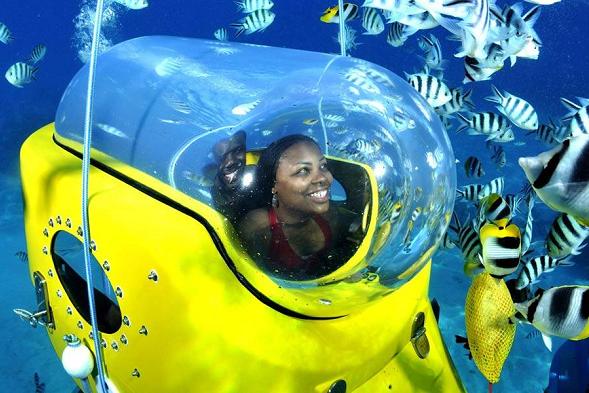 Mauritius Honeymoon - submarine excursion - Mauritian Life