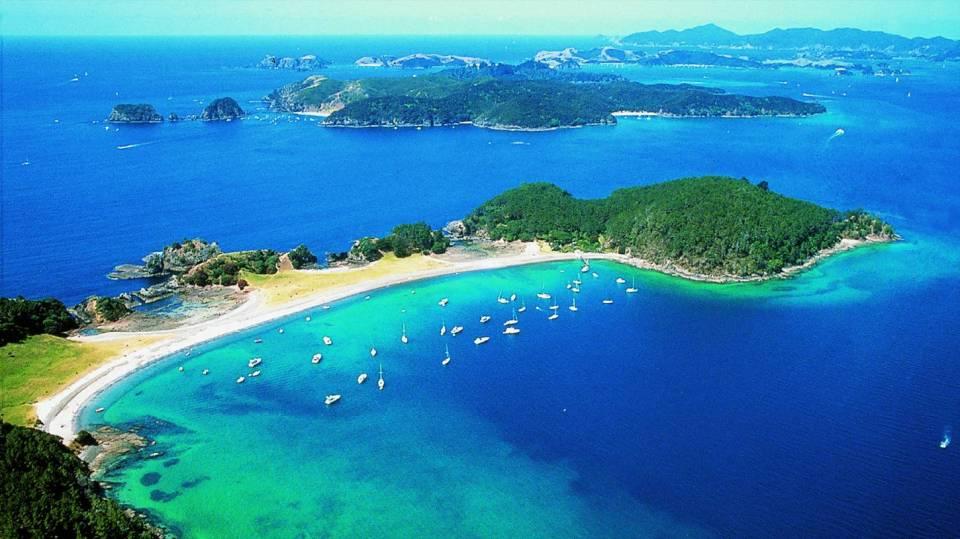 New Zealand Honeymoon Bay of Islands