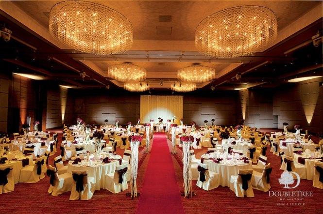 Wedding Venues Malaysia - Double Tree Hilton - Bridal Trend Asia