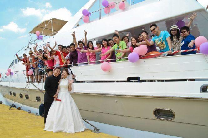 Wedding Venues Malaysia - Yacht Rental Malaysia