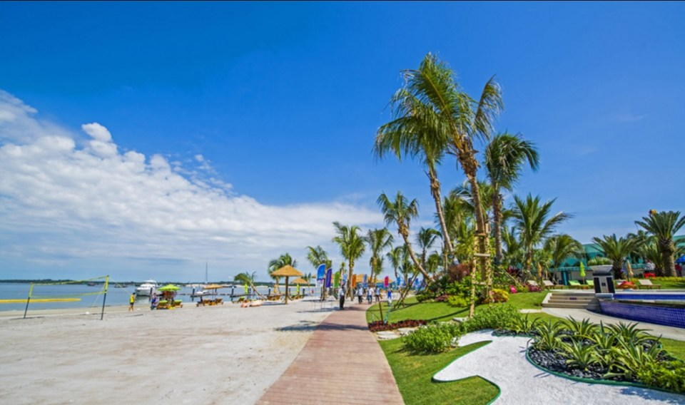 johor bahru honeymoon - Danga Bay - Country Garden Danga Bay