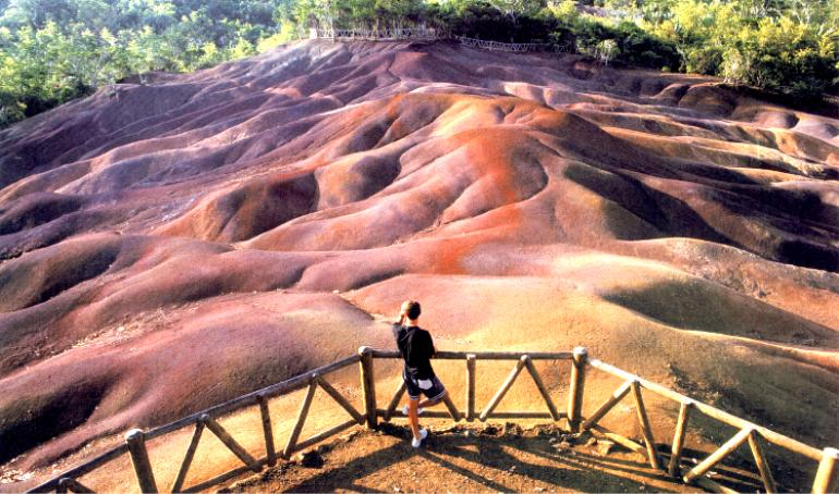 Mauritius Honeymoon - Chamarel Seven-Colored Earth - Cestovanie Dovolenka