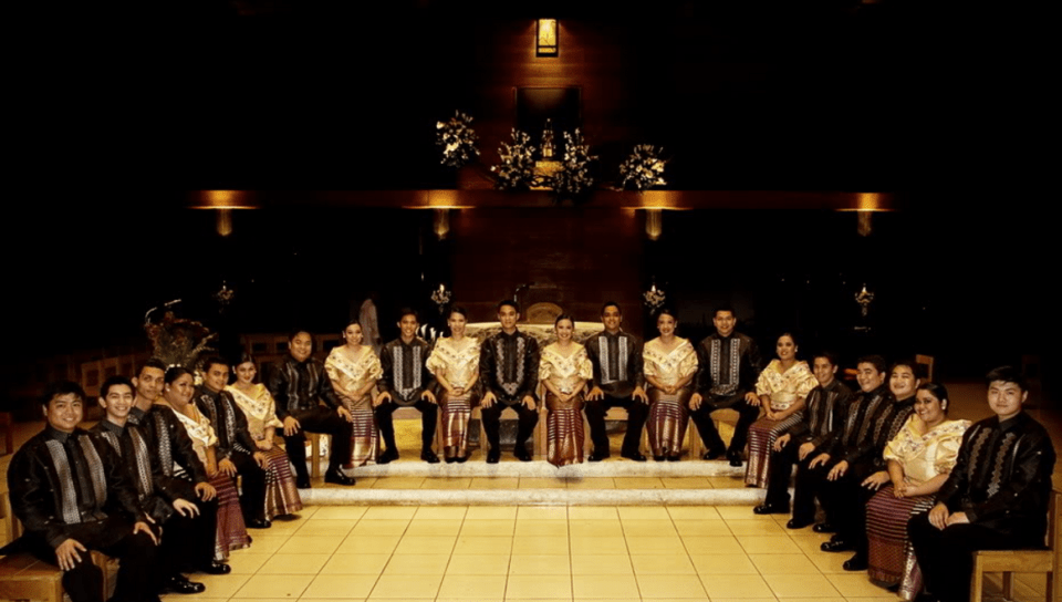 live music wedding philippines - Philippine Madrigal Singers