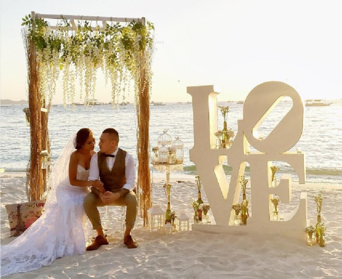 wedding decorations - Boracay Weddings by Amanda Tirol - Instagram