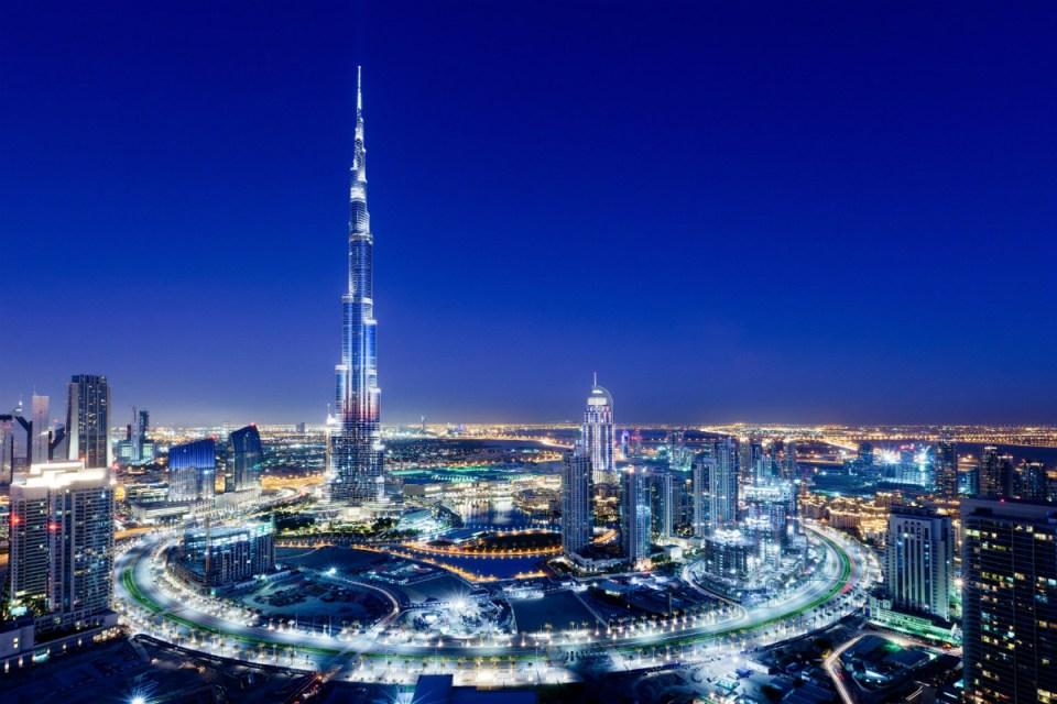 Dubai honeymoon Burj Khalifa