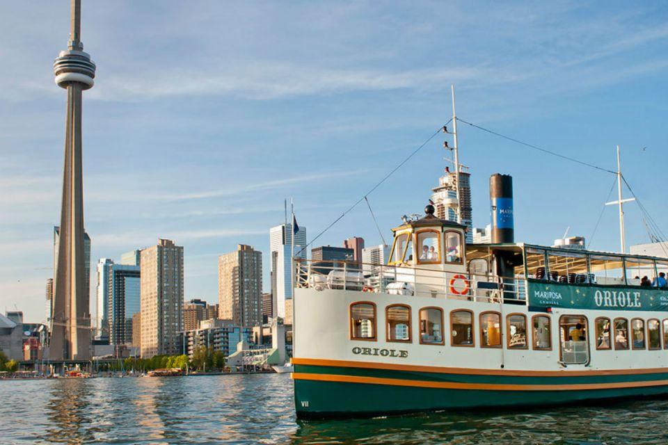 TorontoHoneymoon-torontoharbour-Mariposa Cruises