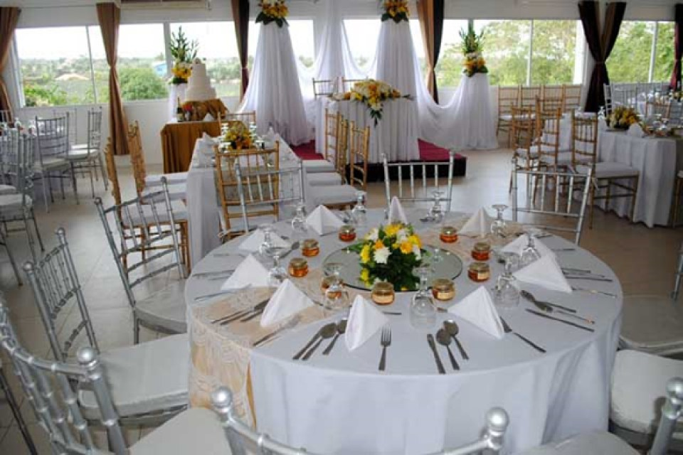 rent wedding chairs - R.F. Jaberina Catering Services