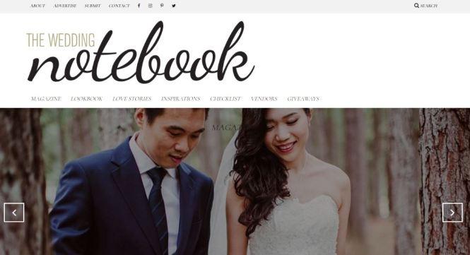 WeddingMalaysiaWeddingWebsites - theweddingnotebook
