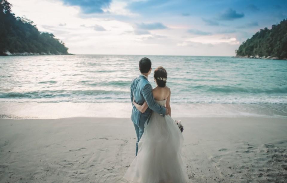 beach wedding venues malaysia - Pangkor Laut Resort - Edwin Tan Photography