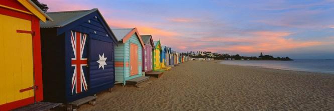 Australia Honeymoon Melbourne Brighton Beach Boxes