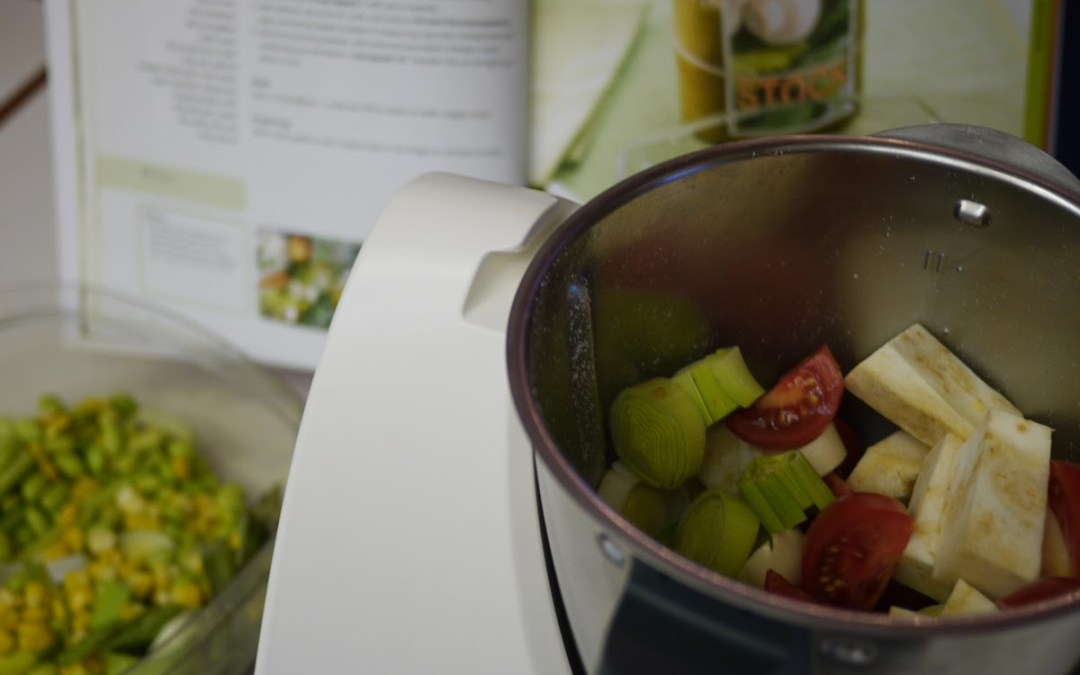 Thermomix Experiment 6: Chicken and Vegetable Stock Paste