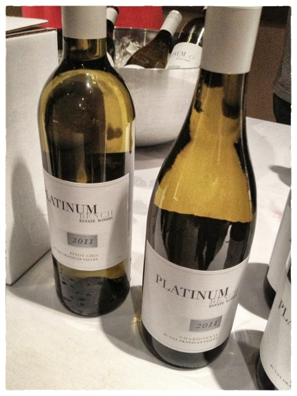 Getting to taste fantastic Oliver, BC wines from Platinum Bench