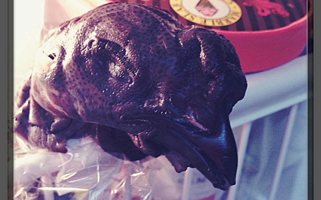 Silkie Chicken (Black Chicken) in Coconut Sauce