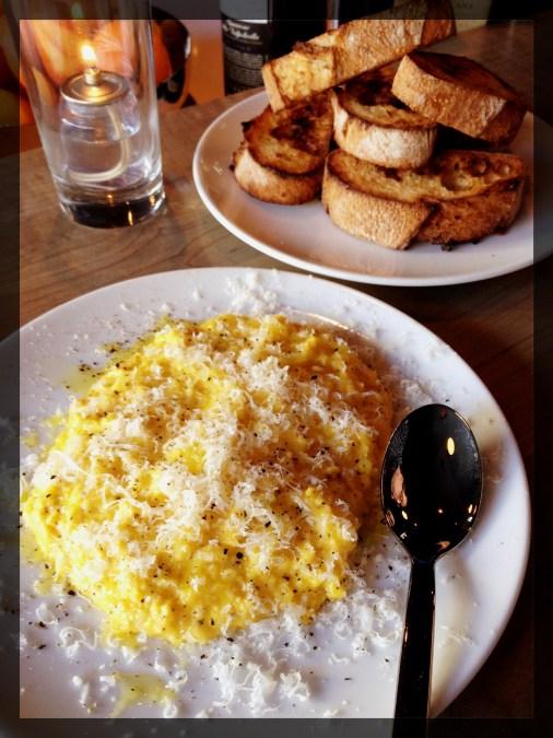 Eggs Moliterno 'Cacio e Pepe', Crostini - $12