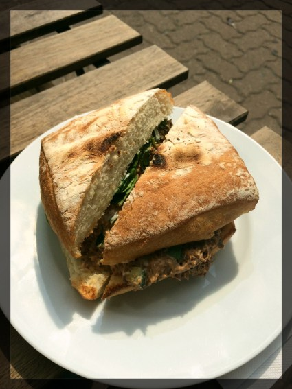 Korean beef sandwich