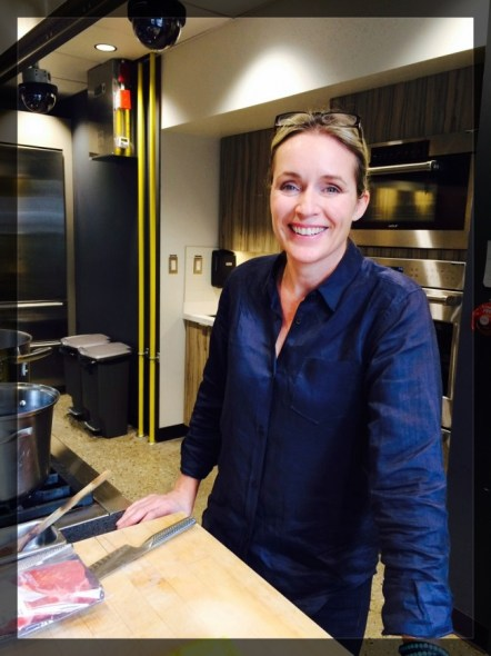 Kathryn Joel of Get Cooking Edmonton Photo Credit: Edmonton Journal