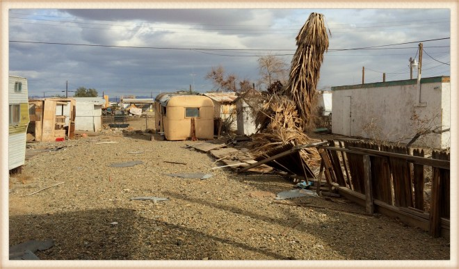 Bombay Beach trailers