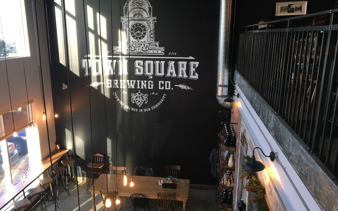 Town Square Brewing – Pizza and beer 'should' go together, but…