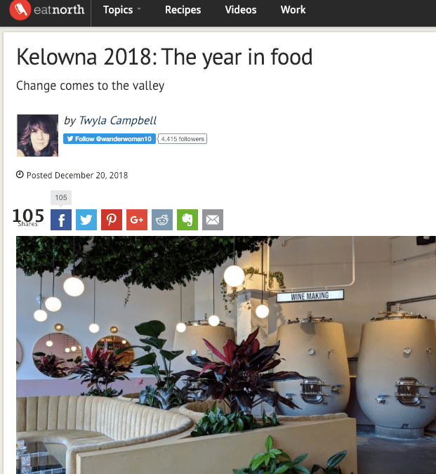2018 – A Hot Year for Kelowna