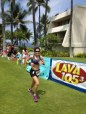 Finally the finish at Kona