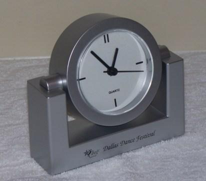 Front of the Dallas Dance Festival Clock