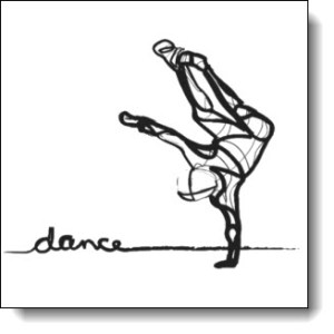 Check out the products with the Hip Hop Dancer Sketch