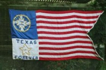 Reproduction KGC flag produced by Vicki Betts