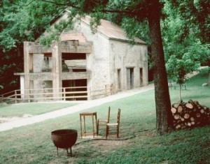 Grist Mill. Landmark Inn, Castroville, Texas