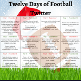 #12DaysFBTwitter Book Wishlist