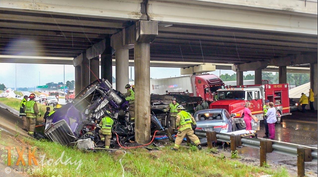 Major Accident Closes I30 W at Nash  Texarkana Today