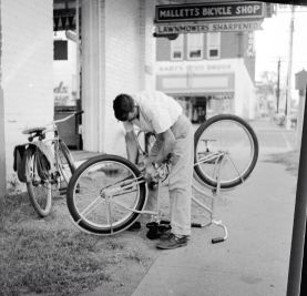 Mallett's Bicycle Shop in Texarkana Photo Courtesy of David Mallette
