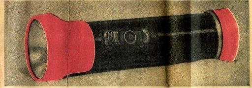 On Wednesday, May 29, a colored picture on the front page of the Texarkana Gazette showed a flashlight found at the Starks murder. It was the Texarkana Gazette's first spot-colored photograph.
