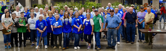 Group Photo - Thanks to all our Master Gardener volunteers!