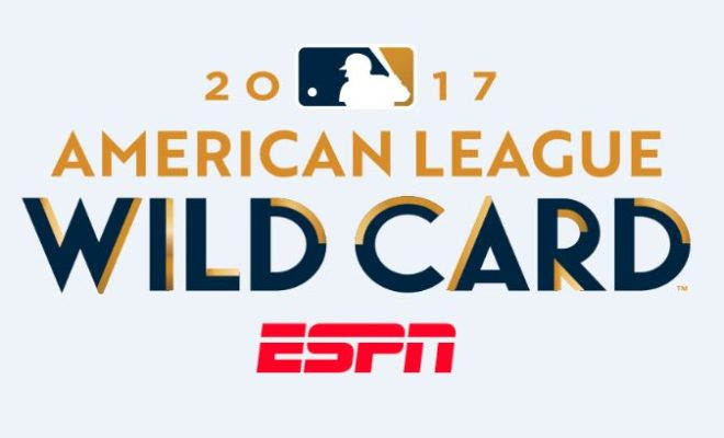 Image result for al wild card game 2017