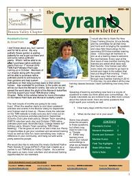 Cyrano Newsletter thumbnail for Quarter 3, 2018