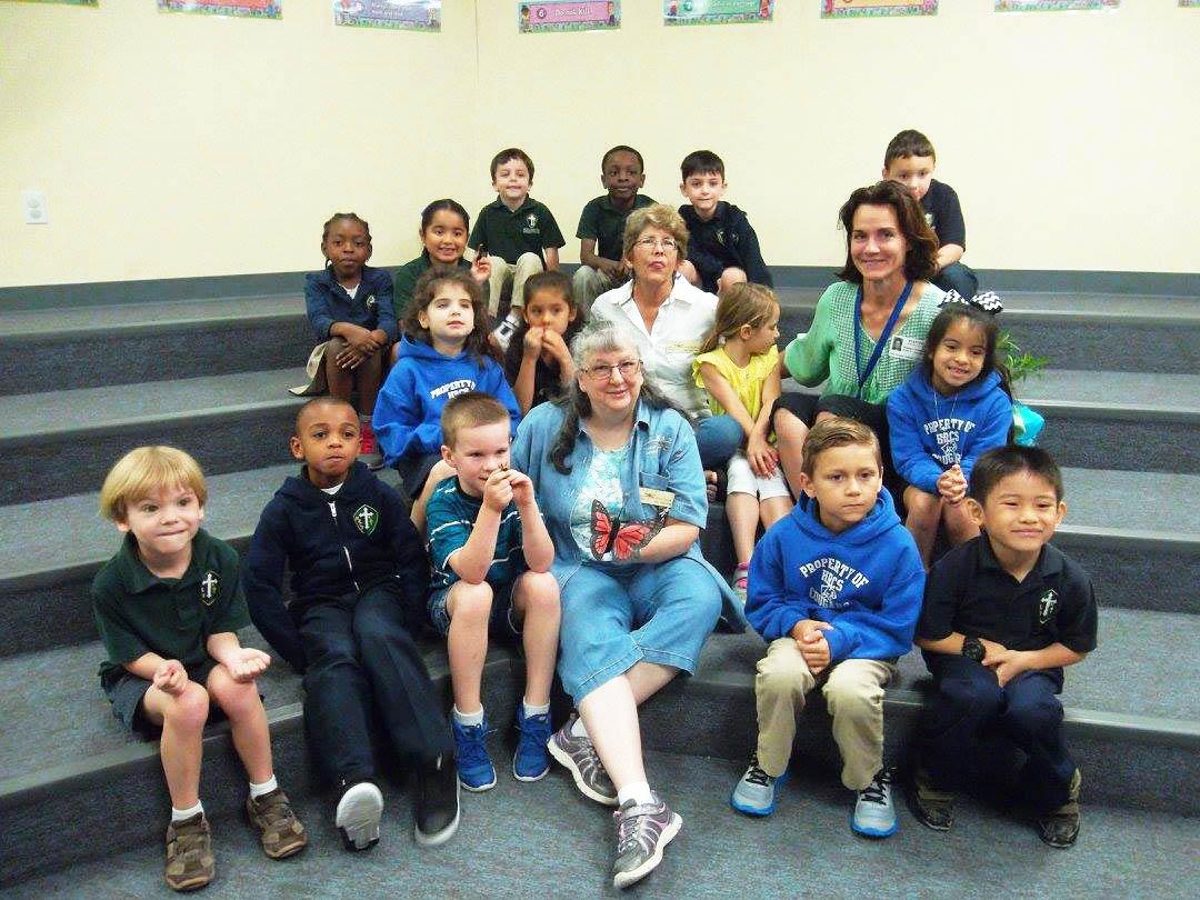 Reene Diane Natalya with Holy Rosary Kids2