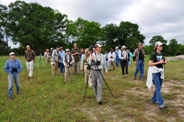 birders at Seabourne Creek Nature Park-Wayne Poorman