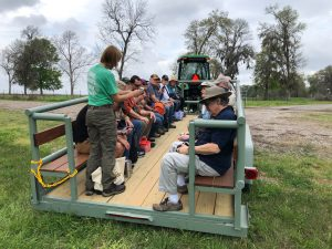 Fall 2019 class visits Long Point Ranch