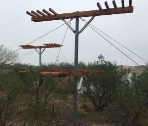 Nesting platforms John Hargrove Environmental Complex, Pearland