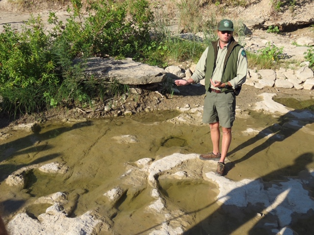 Looking for Dinosaur Tracks