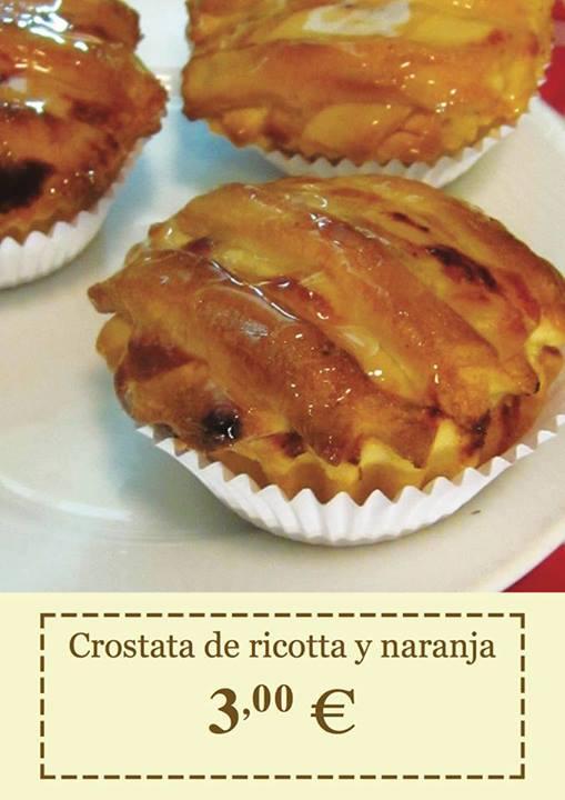 La crostata de ricotta y naranja / La pizzateca.